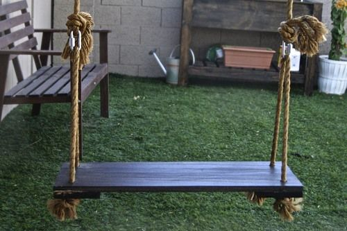 Homemade a diy swing for kids adults il house pinterest for Diy kids swing