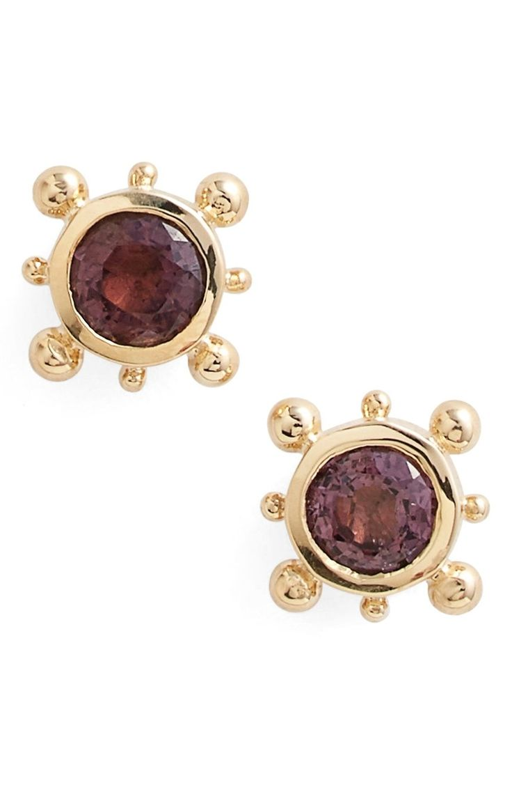 Free Shipping And Returns On Anzie 'dewdrop' Stud Earrings At Nordstrom