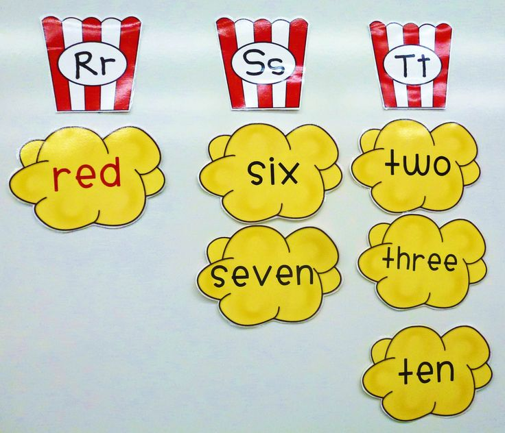 circus themed classroom | Click the image below to download the Alphabet Popcorn Boxes for FREE.