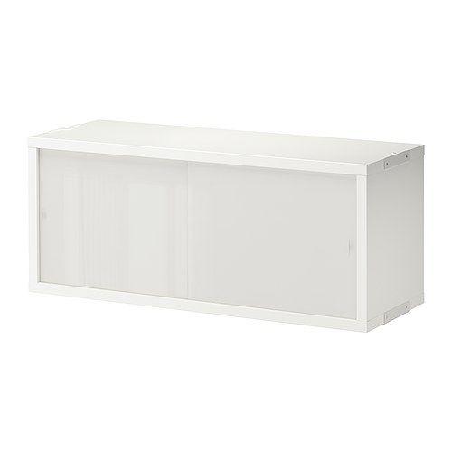 STOLMEN Cabinet With 2 Doors IKEA Sliding Doors Save Space. Glass Doors  Keep Your Favorite