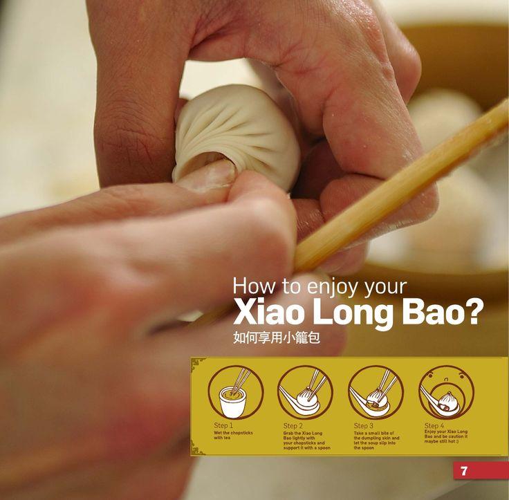 How to enjoy Xiao Long Bao (Chinese Dumplings) at Taste of Shanghai at Ashfield, Eastwood, Hurstville and World Square. www.tasteofshanghai.com.au