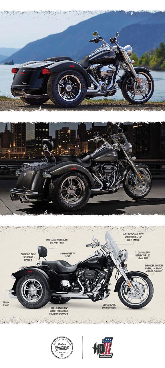 Ride your own way.   2016 Harley-Davidson Freewheeler