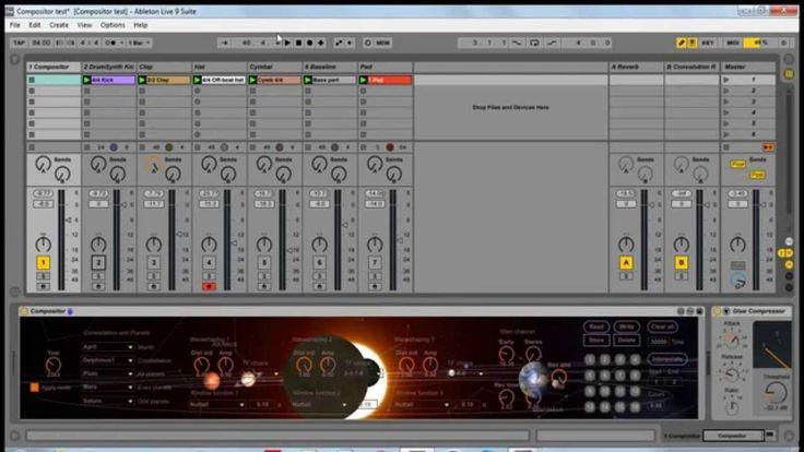 Compositor Max For Live demo