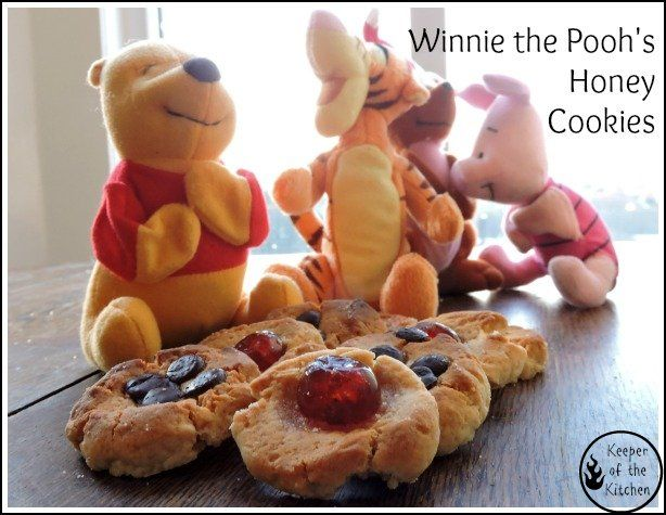 Great little cookies for a picnic in the 100 Acre Woods with Winnie the Pooh