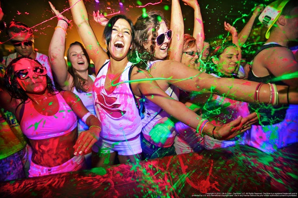 """Dayglow Transforms Into Life In Color // The world's largest paint party has taken on the new name """"Life in Color"""" and is coming to a city near you!"""