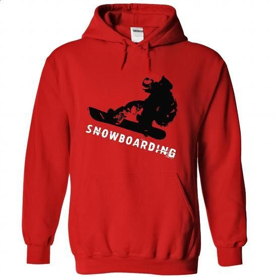 Snowboarding- - #dress #cool tee shirts. CHECK PRICE => https://www.sunfrog.com/Sports/Snowboarding-5647-Red-43582035-Hoodie.html?60505