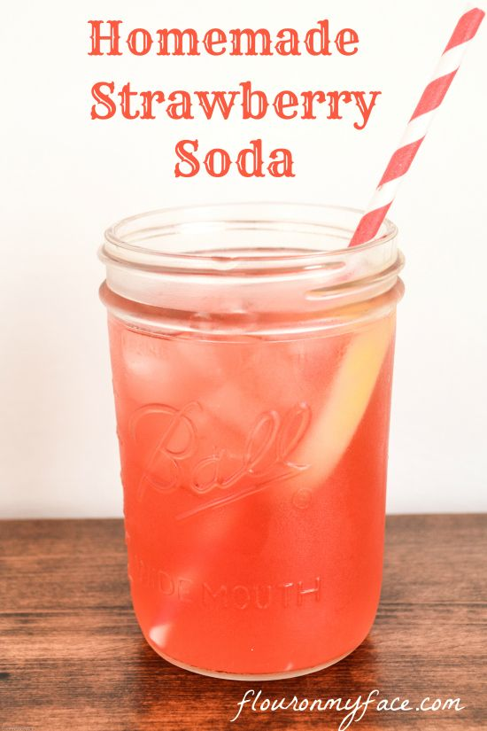Soda Making at Home--ok Strawberry simple syrup--amazing....try cranberry?.....use to flavor plain water?