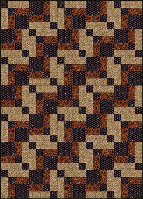 Bonnie Scotsman Quilt Block & Quilt Pattern