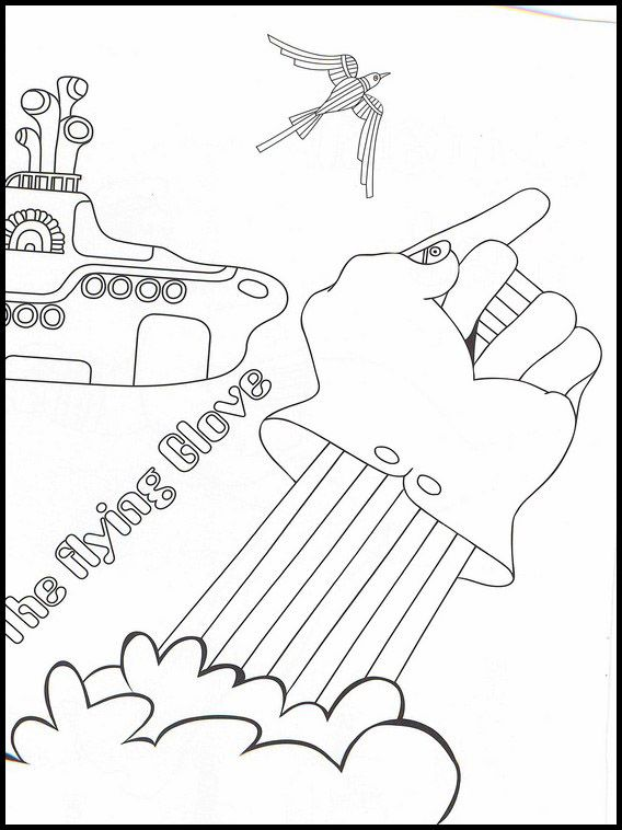 The Beatles 19 Printable Coloring Pages For Kids Online Coloring Pages Coloring Pages For Kids Printable Coloring Pages