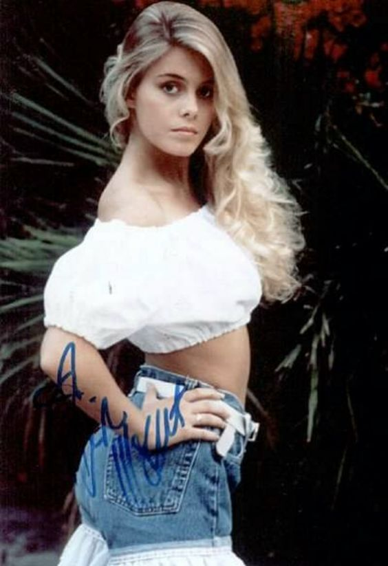 Nicole Eggert modeling photos from 1990 | Old School ...