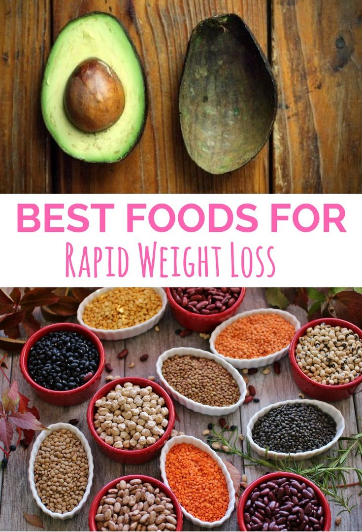 17 superfoods you must eat if you want to lose weight quickly.