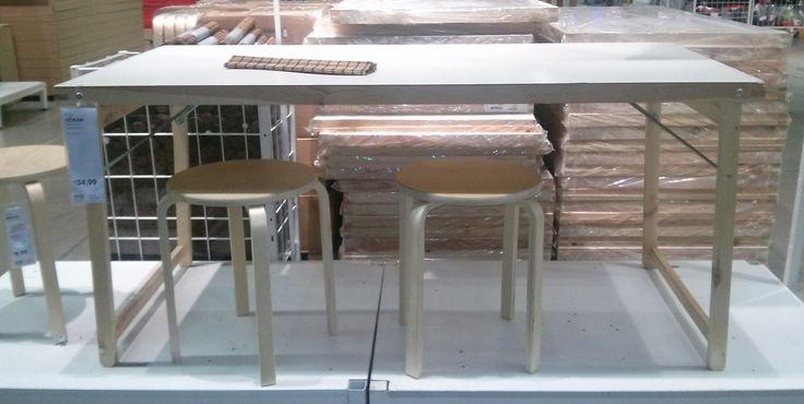 tavolo goran ikea 34€  Idee per la tipografia  Pinterest  Ikea
