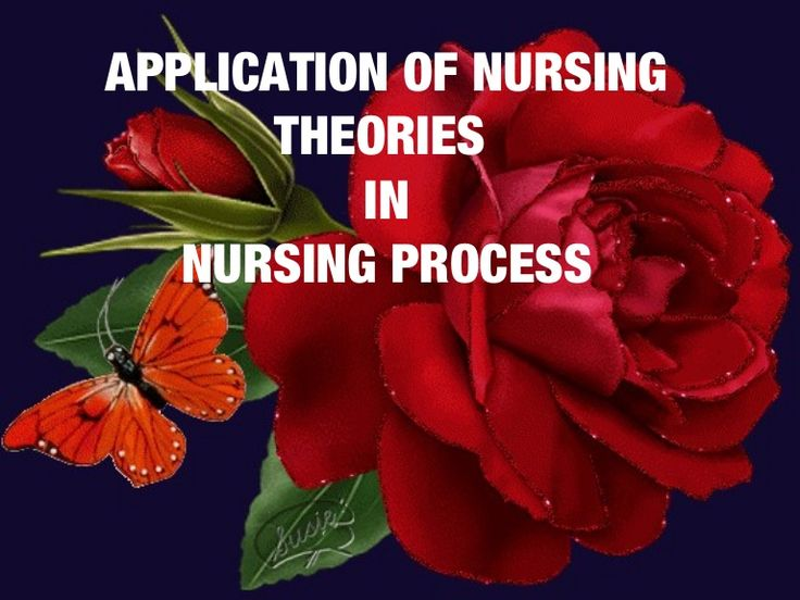 Application of nursing theories