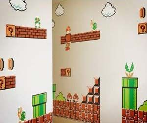 Mario wall stickers: Kids Room, Wall Graphics, Supermario, Wall Decal, Nintendo Wall, Super Mario Bros