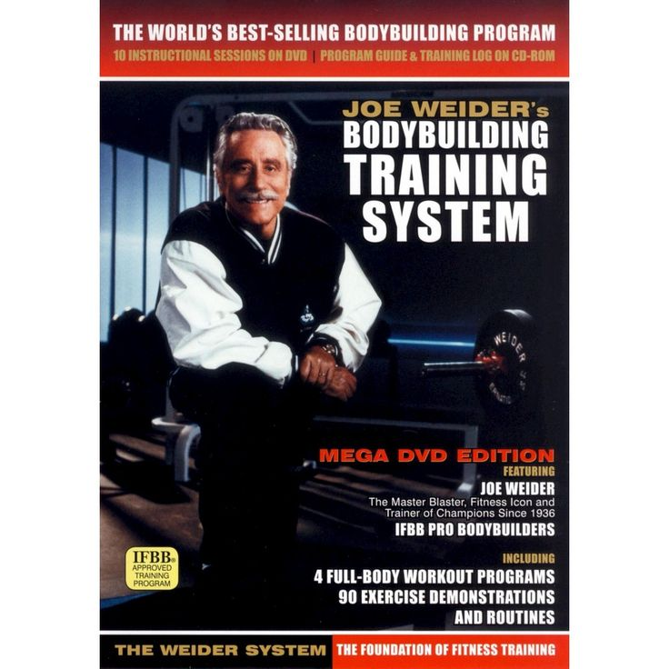 Joe Weider's Bodybuilding Training System [Bonus CD-ROM]
