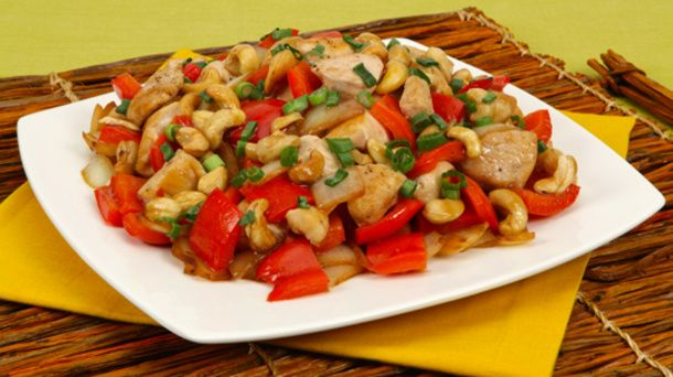Sweet and Spicy Cashew Chicken