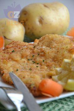 Cotoletta di pollo con panatura di patate