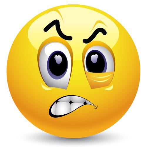 Frustrated Emoticon Pinterest Emoticon Smiley Emoji