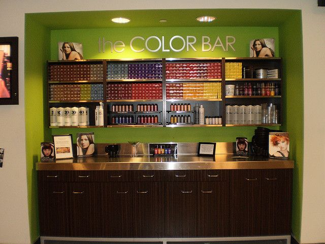 Phase I Color Bar by Cactus Academy Paul Mitchell Partner School, via Flickr