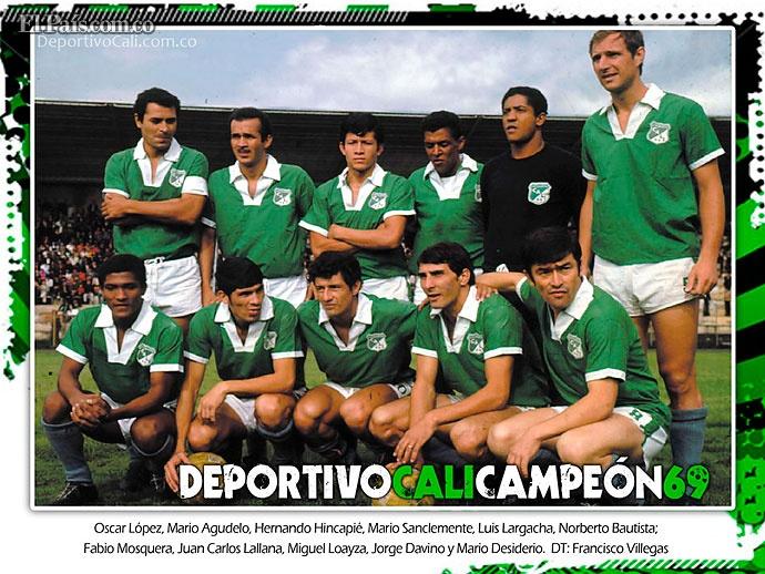 Deportivo Cali 100 Años - Campeon 1969