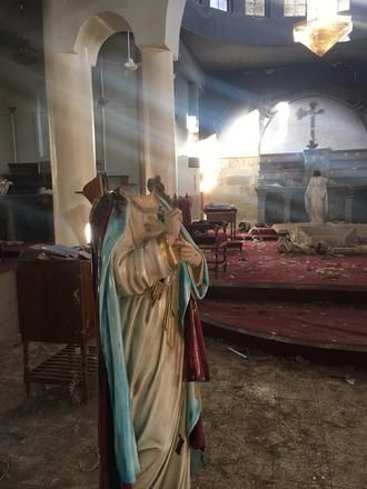 5 photos that show the true picture of Christian persecution in Iraq: An initiative spearheaded by the advocacy charity Aid to the Church in Need, which is highlighting a lack of religious freedom in countries around the world.