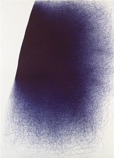 ball point pen drawing would look cool in multiple colours.