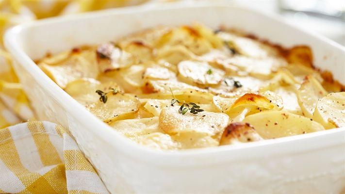 Cheesy potato bake recipe | OverSixty