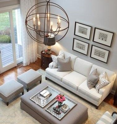 If you want to re-design your small living room, here is the great ideas to turn your small living room to big modern one. #smallroomdesignmodern