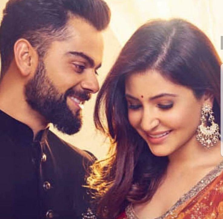 Virat Kohli and Anushka Sharma #Virushka #lovegoals #truelove #couplegoals #perfectlove #viratsloveforher #perfectpicfromtheirad #beautifulpic #beautifulAnushka ❤❤❤
