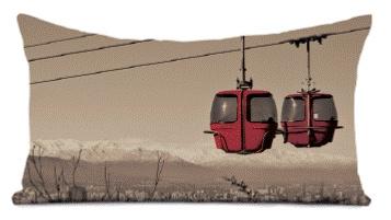 Découvrez la nouvelle collection montagne 2013 Coast and Valley !! #décorationchalet #hiver #montagne #coussin #tableau #2013 #telecabine #ski