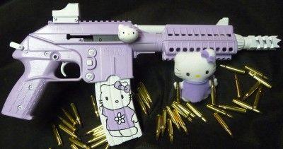 hello kitty Keltec pistol