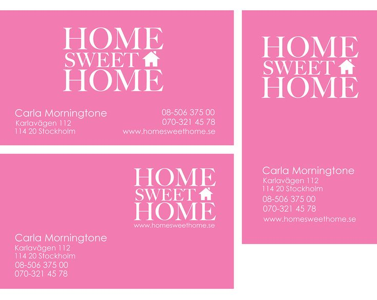 | CARDS | ☆ Home Sweet Home ☆