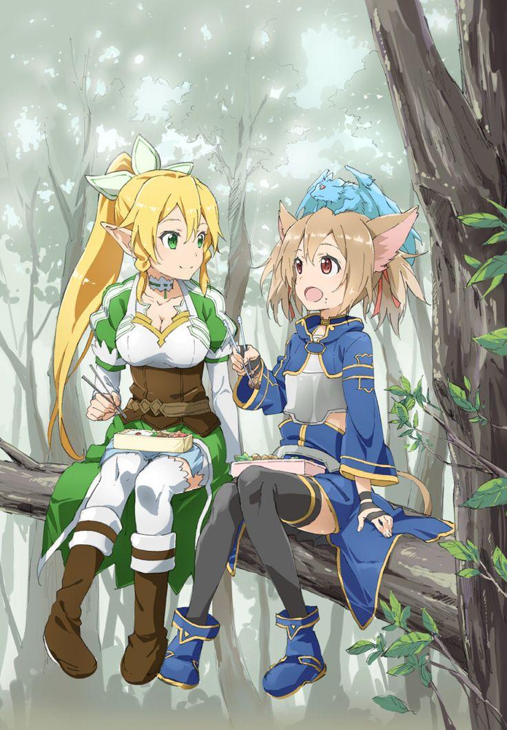 ALO Leafa and Silica
