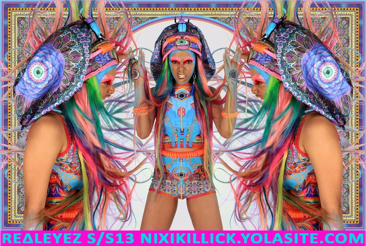 REΔLEYEZ S/S13 NIXI KILLICK SUMMER CAPSULE COLLECTION  AVAILABLE AT NIXIKILLICK.YOLASITE.COM  STAY FLY CYBER BABES   NX