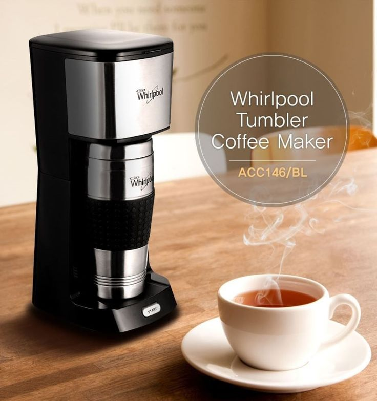 Whirlpool Coffee Maker Espresso Machine + Tumbler Acc146 450Ml All-In-One