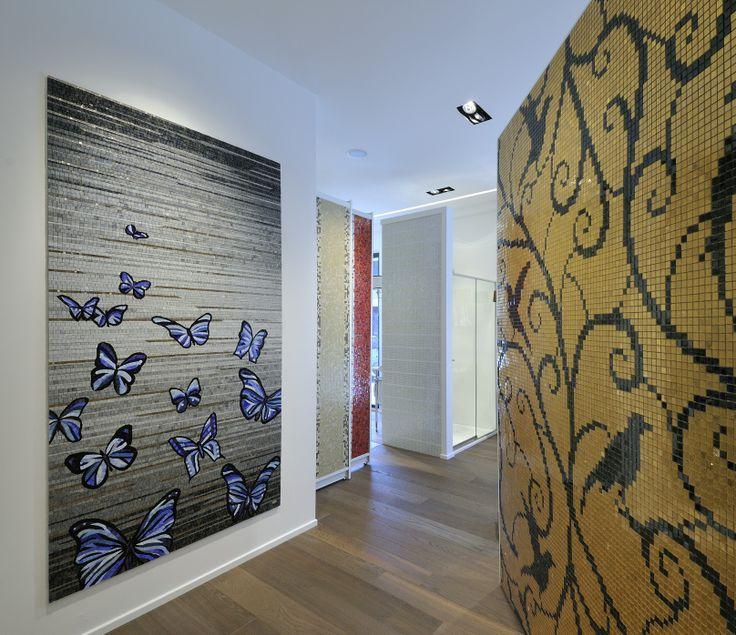 Pannelli decorativi mosaico artistico. 100%made in italy. www.stanzedautore.it Mobili da bagno,sauna,hammam,cromoterapia, accessori bagno.