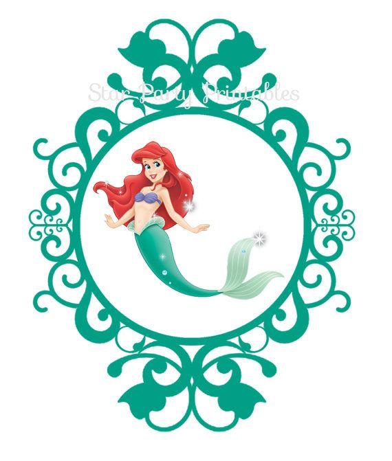 Immediate Download Ariel The Little Mermaid Digital