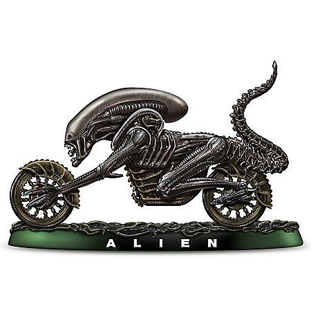 Alien Scream Fantasy Chopper Handcrafted Sculpture