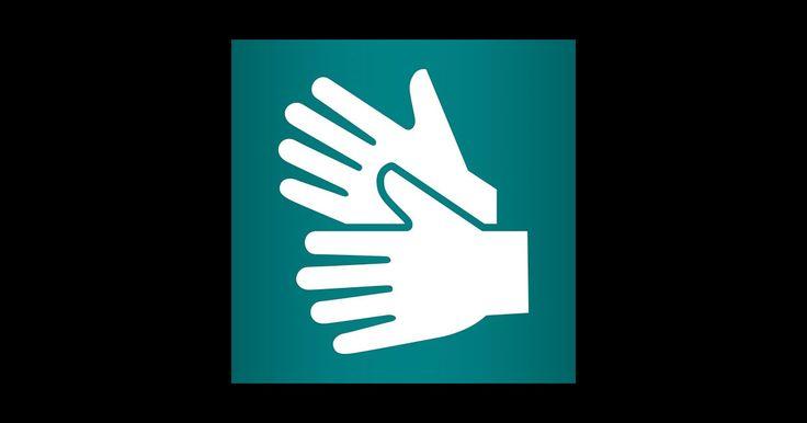 Teckenspråk (109 kr) - innehåller vardagstecken från det svenska teckenspråket. Det svenska teckenspråket har en ställning motsvarande de svenska nationella minoritetsspråken. Teckenspråket är visuellt, det finns inte i skriven form och man använder inte rösten. I vår app med videoinspelningar och pålagd speakerröst kan du lära dig några användbara tecken. #teckenspråk #äppelhyllan