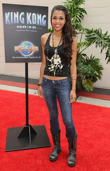 "Kali Hawk Photos: Premiere Of Universal Studios Hollywood's ""King Kong 360 3-D""…"