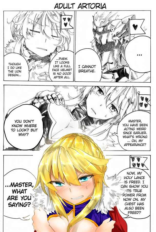 Bond Line Comic Compilation Fate Anime Series Fate Stay Night