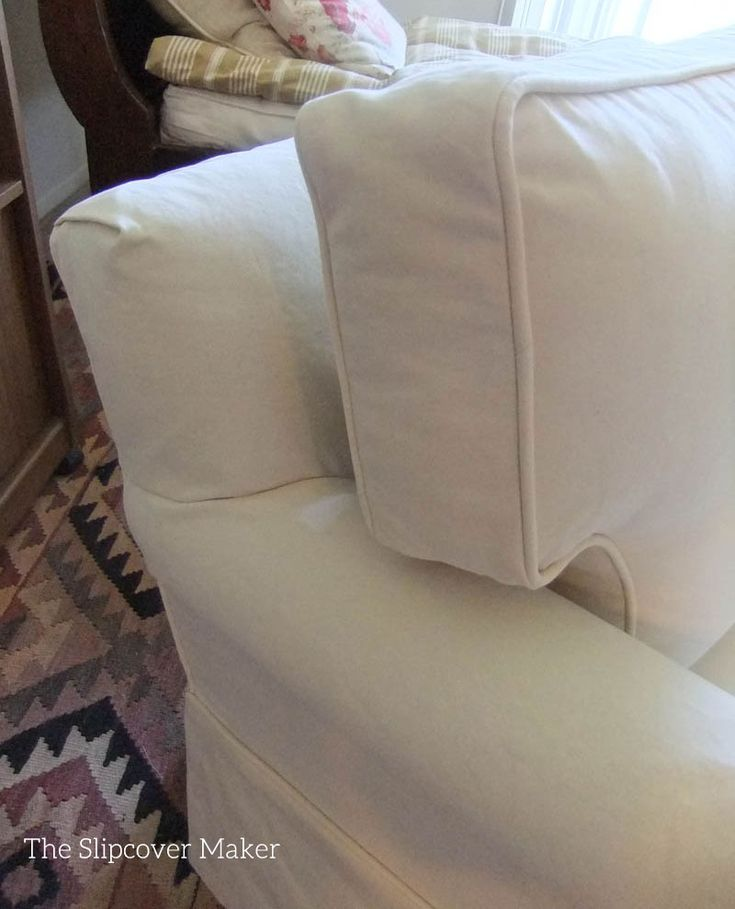Awesome Chair Slipcover With A Tailored Fit And Welt Cord Trim Made With Carr Co  Canvas In