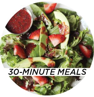 Dinners from A Beautiful Mess pinned by theinspiredcafe.com #dinner #meals #easy