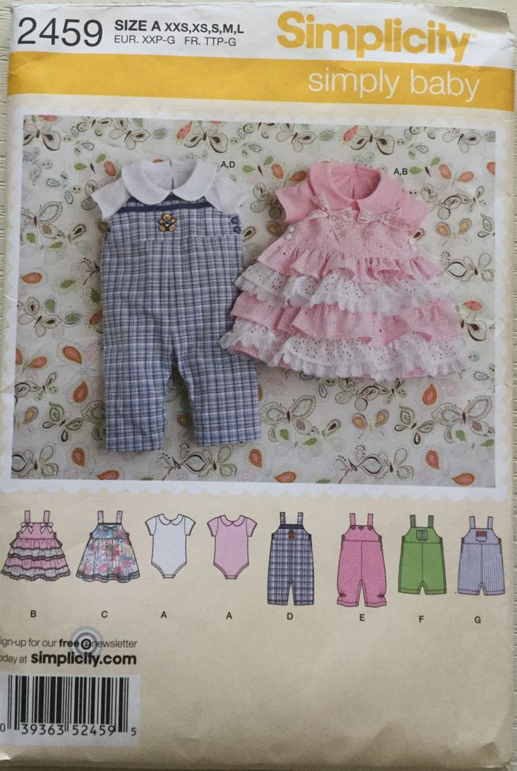 26 best patrones bebes images on Pinterest | Baby dresses, Babies ...