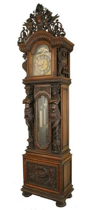 Victorian Grandfather Clocks