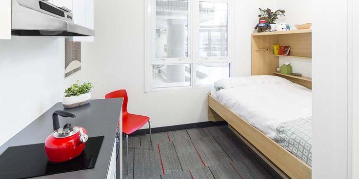Студенческая квартира площадью 13 кв. метров в Канаде