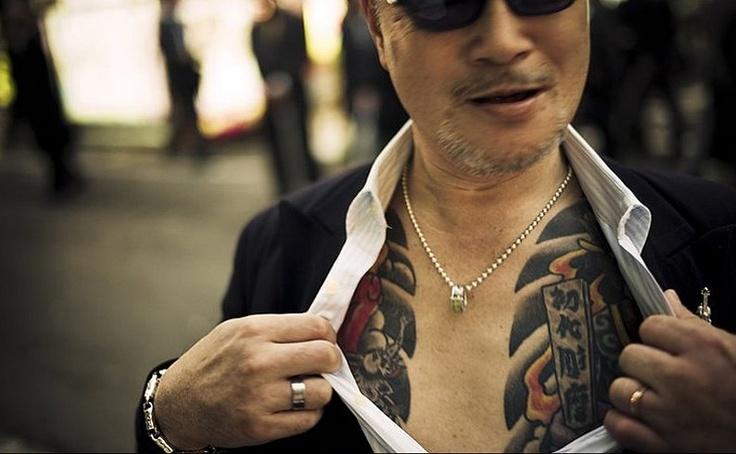 Kenichi Shinoda, the head of the Yamaguchi-gumi.