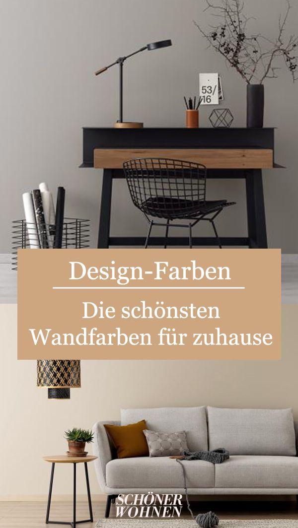 Neue Kollektion Die Schoner Wohnen Designfarben In 2020 Schoner Wohnen Wandfarbe Wohnen Schoner Wohnen