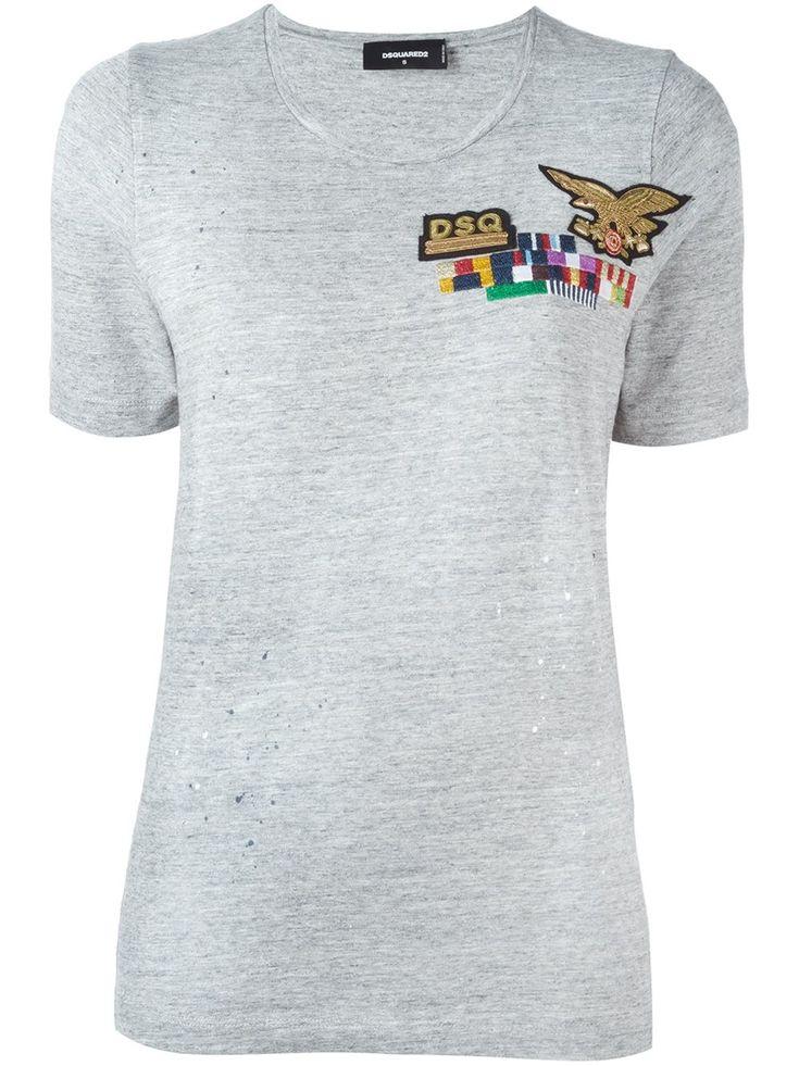 Dsquared2 T-shirt Brodé - Elite - Farfetch.com