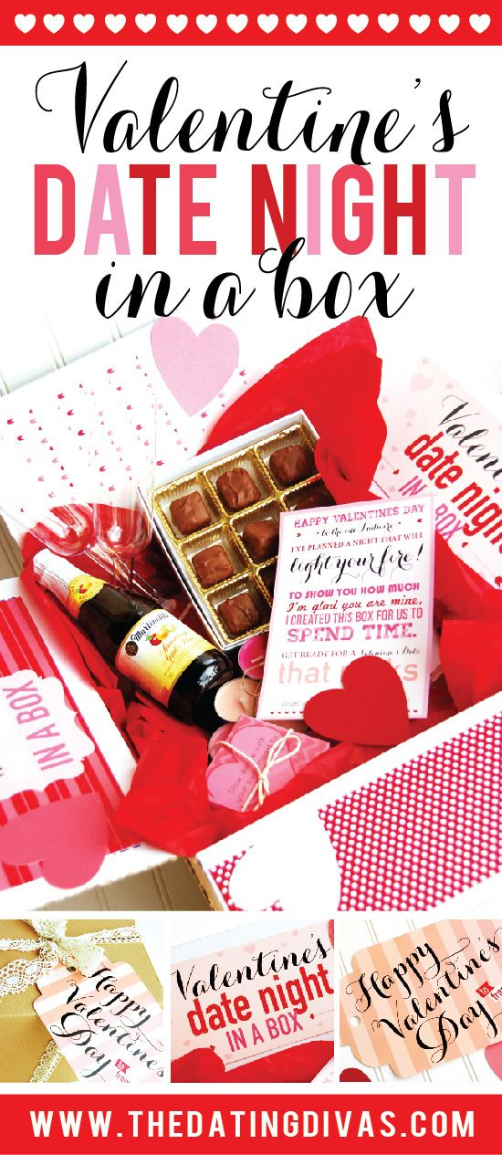 Date Night In A Box Romantic Gift Ideas For Him Pinterest